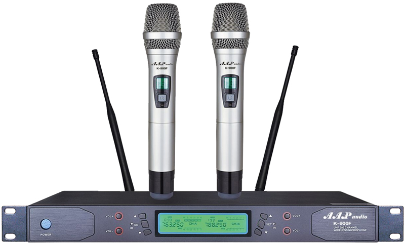 Micro không dây AAP audio K-900F